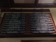 I was initially overwhelmed by the prospect of trying all these beers, but I was up to the task.