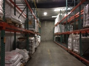 Specialty malt room.