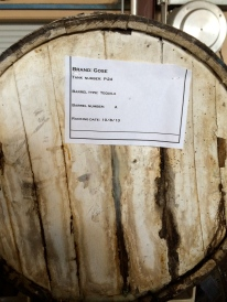 Interesting barrel projects. Tequila barrel aged Gose?